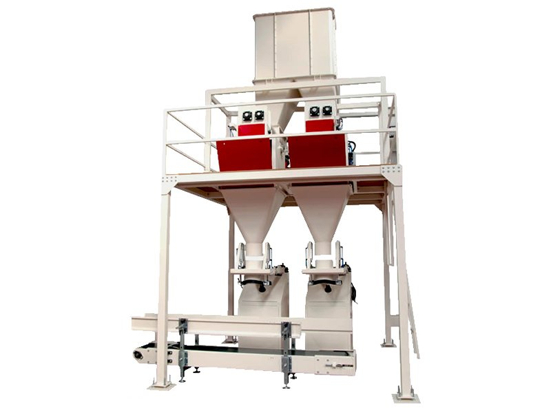 Ergani Yem Çift Dolum Tek Boşaltım Paketleme Makinesi Devreye Alınmıştır